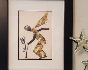 "Dancing Lady fiber art ""Charity"" image # 6"