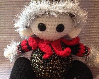 Gothic Elf Crochet Plushie