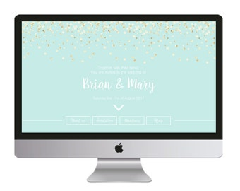 Wedding Website / Site web de mariage