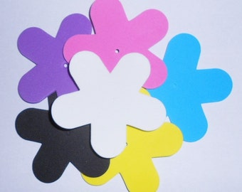 Foam Flowers, large, DIY Bird Toys, (12 pcs.)