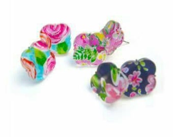 Lilly Inspired Summer Stud Earrings