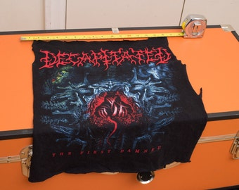 SALE! DECAPITATED death metal back patch