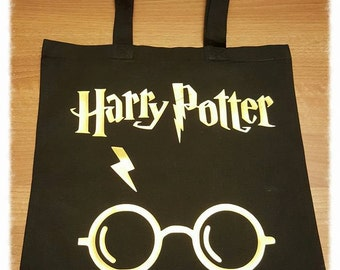 Harry Potter canvas shopping bag