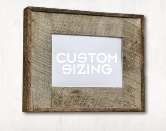 natural authentic barn wood picture frame