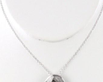 FLEUR DE LIS Necklace (Silver)