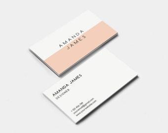 Modern Business Card Template (digital files)
