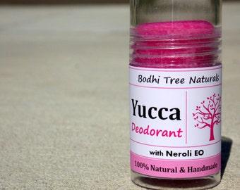 Yucca Deo - Natural Deodorant - Handmade Deodorant - small deodorant  - Purse size (1oz)