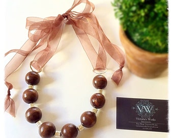 Wooden Necklace 6