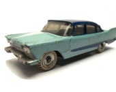 1960s Vintage Dinky 178 Plymouth Plaza Motor Car Toy Collectible Made in England