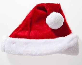 First Christmas Super Economy Baby Santa Hat SALE