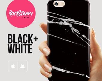 Black Marble iPhone 6s Plus case, iphone 6 case, Black iPhone 6 Plus case, iPhone 5s Case, samsung Galaxy s6 case marble, s5 case