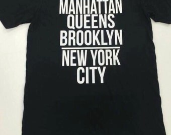 Manhattan, Queens, Brooklyn New York City Softstyle Tee