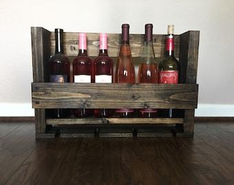 Wooden Wine bottle rack