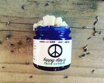 hippy dippy carrot + shea face cream