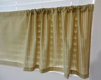 kitchen cafe curtains stripes curtains kitchen valance tier curtain your custom size stripes valance