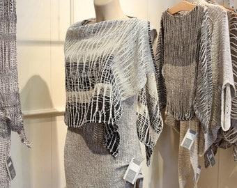 Linen shawl - linen clothing (13)