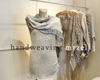 Linen shawl- Linen clothing (01)