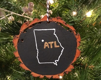 Atlanta Ornament