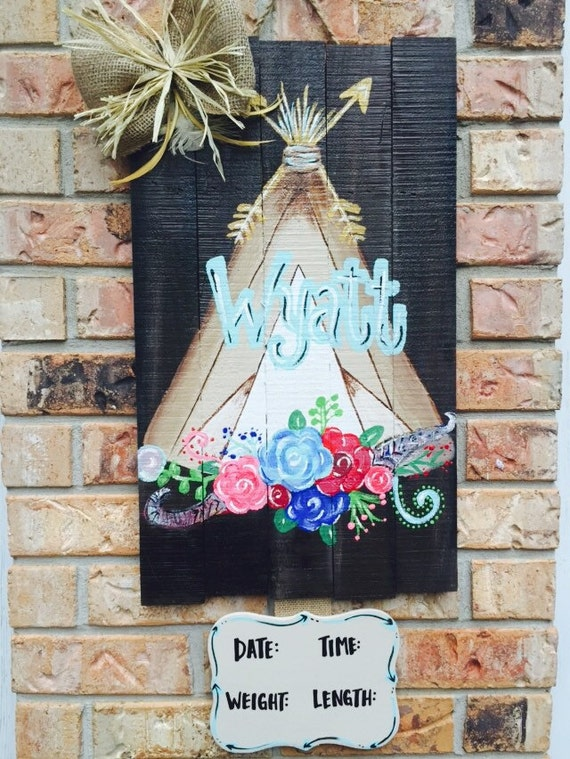 Like this item? & The little indian that could boy door hanger baby shower Pezcame.Com