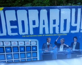 1986—Jeopardy—NEW IN PACKAGE—Vintage