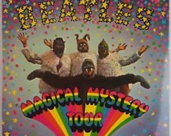 The Beatles Magical Mystery Tour 2 vinyl and book 1967 UK Pressing NM