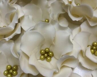 Edible Sugar Flowers- 10 pieces Customizable