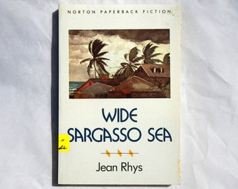 Wide Sargasso Sea by Jean Rhys Vintage 1966 Paperback Book