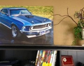 Canvas prints, Your image printed on wrapped canvas