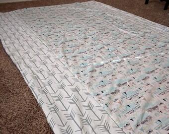 Aztec Boho Twin Size Duvet Cover Ready To Ship