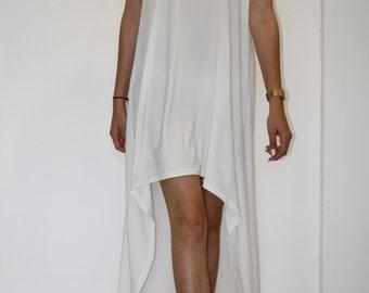 Off white soft Jersey dress