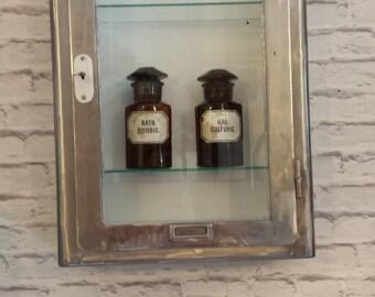 Vintage small hanging medicine cabinet