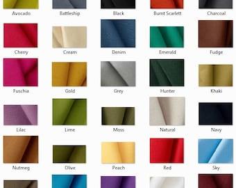 CANVAS: 10 oz Canvas Fabric by the yard