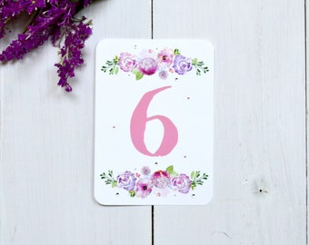 Pretty Peonies Tabe Number