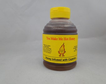 Honey Infused With Cayenne Pepper