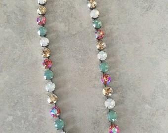 Ready for the beach swarovski necklace