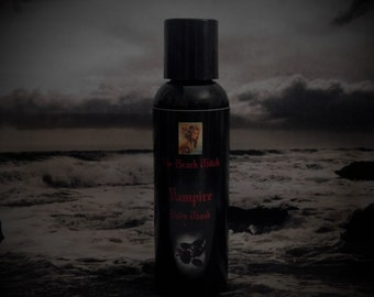 VAMPIRE Body Wash, Ritual Oil Wash, Shower Gel, Spell Oil Body Wash, Wicca, Witchcraft, Vampirism, Occult