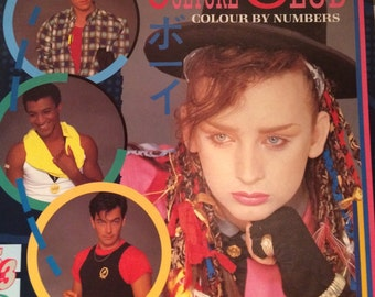 Culture Club Colour by Numbers Record Vinyl 1983
