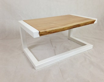 Sycamore & Steel Coffee Table