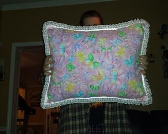 Butterfly Pillow Set