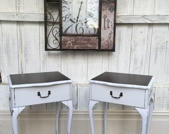 Queen Anne bedside tables