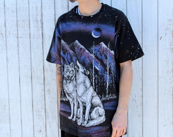 Vintage 80's Wolf T-shirt