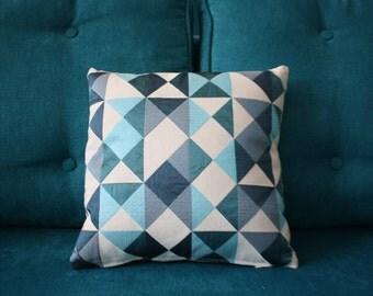 Cushion cover blue, blue. Scandinavian decoration, Nordic 31cm x 31cm
