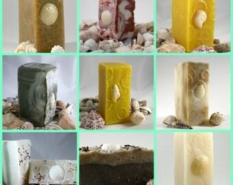 Soap Set  6 bars  / Bulk Soap, Soap Sale, Discounted Soap, Unscented Soap, Essential Oil Soap, Facial Soap, Soap Bundle, Spa Soap, Handmade