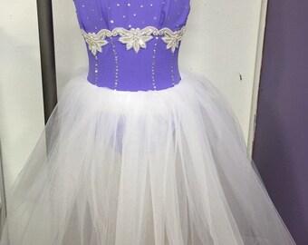 Purple ballet costume