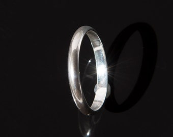 Men's Sterling Silver Ring (Size 10 3/4)