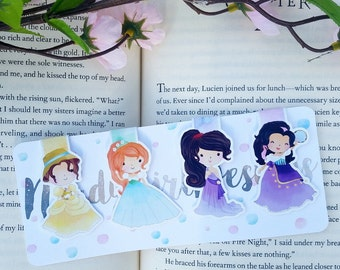 Princess Magnetic Bookmark- Set 4