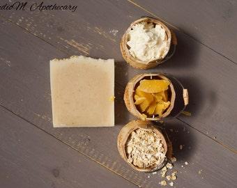 Honey, Oatmeal, Goats Milk Soap