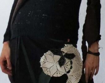 Skirt - leather