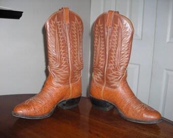 Tony Lama Cowboy Boots Mens 9-1/2 E