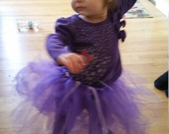 Little girls purple tutu free shipping